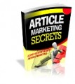 Article Marketing Secrets Plr Ebook