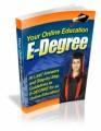 Your Online Education E Degree Plr Ebook