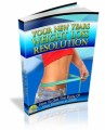 Your New Years Weight Loss Resolution Plr Ebook