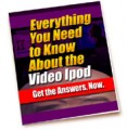 Everything You Need To Know About The Video Ipod PLR Ebook