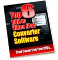 Top 6 Dvd To Video Ipod Converter Software PLR Ebook