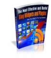 The Most Effective And Useful Blog Widgets And Plugins Mrr Ebook