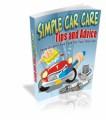 Simple Car Care Tips And Advice Mrr Ebook
