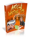 Article Writing Tips Plr Ebook
