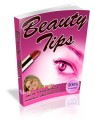 Beauty Tips Plr Ebook