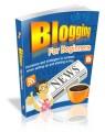 Blogging For Beginners Plr Ebook