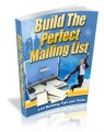 Build The Perfect Mailing List Plr Ebook