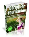 Caring For your Garden Plr Ebook