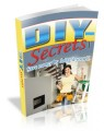 DIY Secrets Plr Ebook