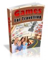 The Perfect Travel Games Plr Ebook