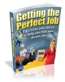 Getting The Perfect Job Plr Ebook