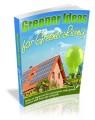 Greener Ideas For Living In A Greener World Plr Ebook