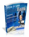 How To Use ClickBank Plr Ebook