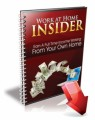 Work At Home Insider Plr Ebook