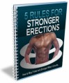 5 Rules For Stronger Erections PLR Ebook