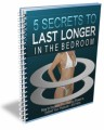 5 Secrets To Lasting Longer PLR Ebook