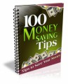 100 Money Saving Tips Give Away Rights Ebook