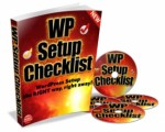 Wordpress Setup Checklist Mrr Ebook With Video