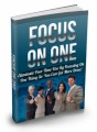 Focus On One Mrr Ebook