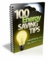 100 Energy Saving Tips Mrr Ebook