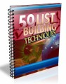 50 List Building Techniques Give Away Rights Ebook