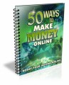 50 Ways To Make Money Online Give Away Rights Ebook