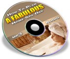 How to Plan a Fabulous Home Spa Day Plr Ebook With Audio