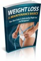Weight Loss And Maintenance Basics Give Away Rights Ebook