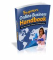 Beginners Online Business Handbook Resale Rights Ebook