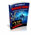 Advantages Of Membership Websites Resale Rights Ebook