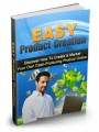 Easy Product Creation Give Away Rights Ebook