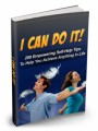 I Can Do It MRR Ebook