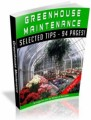 Greenhouse Maintenance Resale Rights Ebook