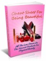 Cheat Sheet For Being Beautiful Give Away Rights Ebook