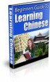 Beginners Guide To Learning Chinese Plr Ebook