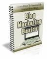 Blog Marketing Basics Plr Autoresponder Email Series