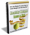 Healthy Weight Loss & You Plr Autoresponder Email Series