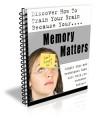 Memory Matters Plr Autoresponder Email Series