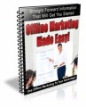 Offline Marketing Made Easy Plr Autoresponder Email Series