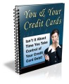 You & Your Credit Cards Plr Autoresponder Email Series