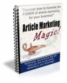 Article Marketing Magic Plr Autoresponder Email Series