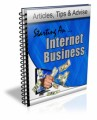 Starting An Internet Business Plr Autoresponder Email Series