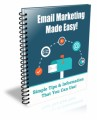 Email Marketing Made Easy Plr Autoresponder Email Series
