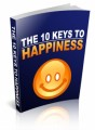 The 10 Keys To Happiness MRR Ebook