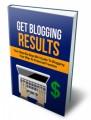Get Blogging Results MRR Ebook