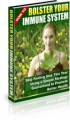 How To Bolster Your Immune System PLR Ebook With Audio
