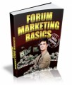 Forum Marketing Basics Ecourse PLR Ebook