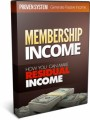 Membership Income MRR Ebook With Audio & Video