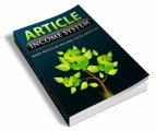 Article Income System Personal Use Ebook