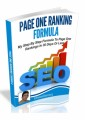 Page One Ranking Formula PLR Ebook